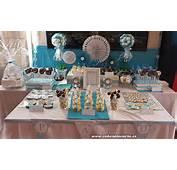 Mesa Dulce Para Comuni&243n De Pau  Cakes Cupcakes Y Cookies En