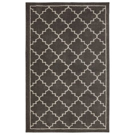 floor rugs home depot home decorators collection winslow walnut 10 ft x 12 ft 11 in area rug 492663 the home depot