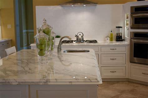 foil kitchen cabinet doors carrara mosaic backsplash granite grouse interior carrara marble top 3 quartz alternatives ogee edge and