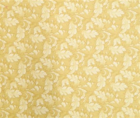 patchwork quilting sewing fabric mums leaves gold yellow