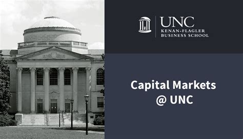 Unc Mba Transfer by Capital Markets Unc Finance Institute