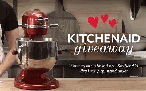 Kitchenaid Sweepstakes - king arthur flour kitchenaid giveaway