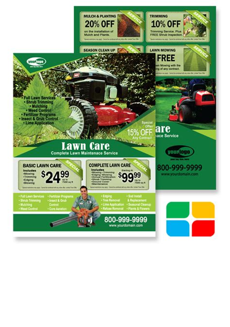 landscaping flyers templates landscaping flyers templates service print ads