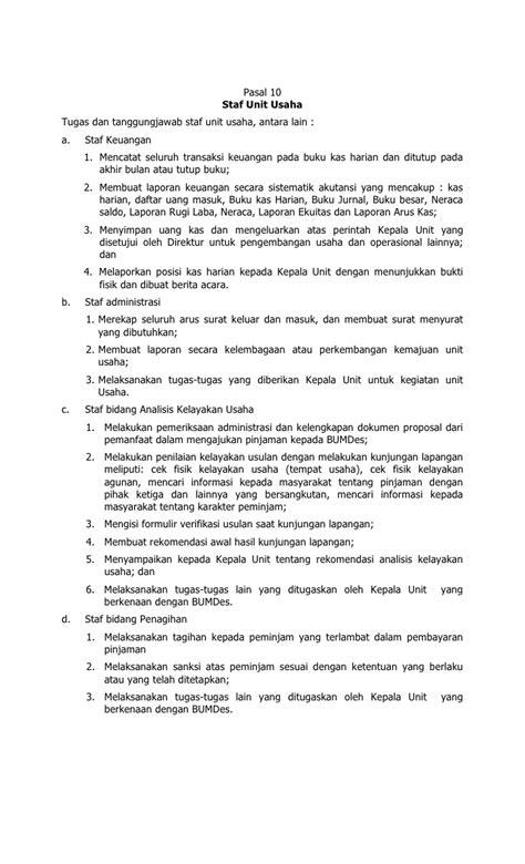 format laporan bumdes format f4 berita daerah kabupaten bekasi tentang bumdes