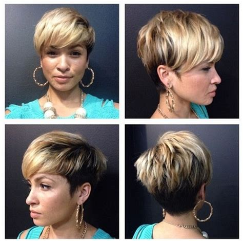 pixie haircuts women thick hair front and back views 33 cool short pixie haircuts for 2018 pretty designs