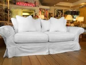shabby chic sofas for sale shabby chic floris sofa slipcovered white denim sale