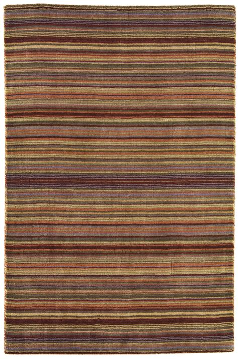 Striped Wool Rug joseph 100 stripe wool spice rug