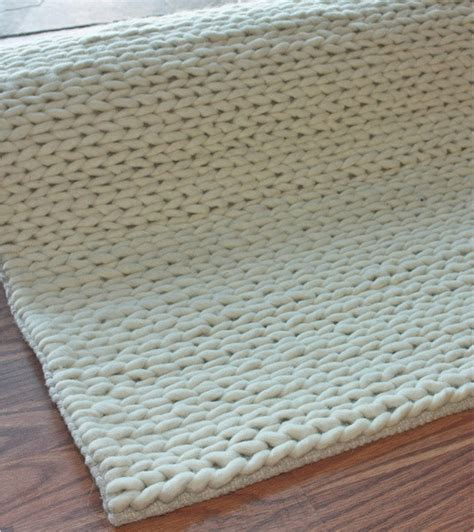 nuloom wool rug nuloom handmade braided cable white new zealand wool rug contemporary rugs by overstock