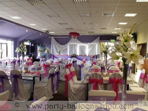 Party Balloons 4 You: Wedding Venue Decorations Done at