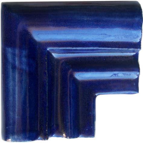 blue chair rail cobalt blue chair rail corner molding