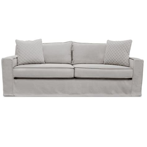 linen sofa slipcovers the william slipcover linen sofa south cone home furniture