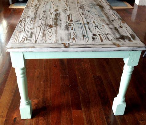 Beachy Kitchen Table by My Modern Beachy Farmhouse Table