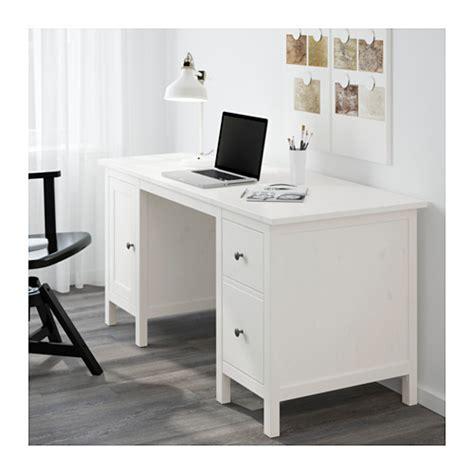 hemnes bureau teint 233 blanc ikea