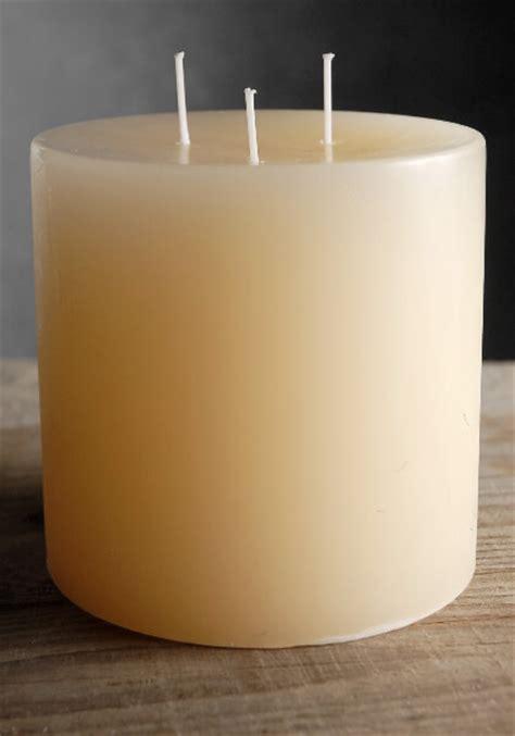 Candle Wicks 3 Wick Pillar Candle