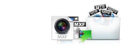 mxf video format convert transcode mxf to mp4 avi mov wmv m4v mpeg on mac