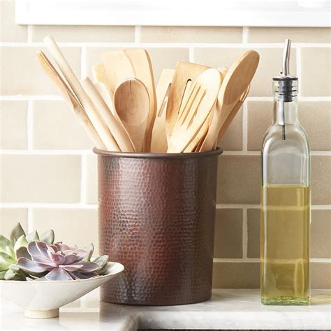 Kitchen Utensil Holder Ideas For Existing House