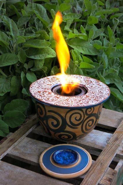 garten feuer tischfeuer feuerschale feuerstelle garten keramik