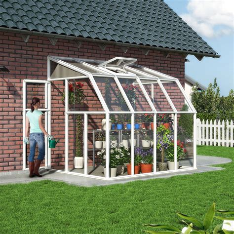 backyard greenhouses canada palram greenhouse 6x8 product palram hybrid 6x8