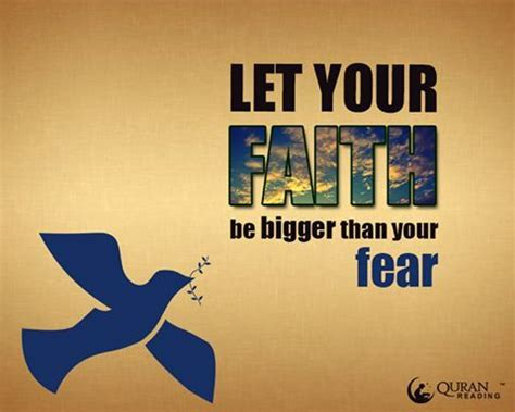 let your faith be bigger than your fear tattoo let your faith be bigger than your fear faith islam