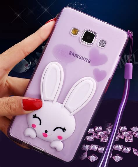 Samsung A5 A7 J5 J7 2016 Minion 3d Soft Casing Karakter Imut 1 samsung galaxy j5 j7 a3 a5 a7 2016 grand prime g530 s7 s6 edge s5 3d rabbit ear glitter phone cases