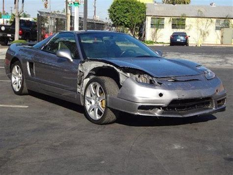 salvage acura nsx for sale buy used 2003 acura nsx 3 2 damaged salvage runs
