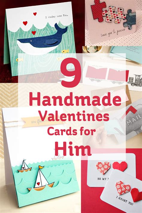 Handmade Cards For Him - 9 handmade valentines cards for him hobbycraft