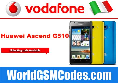 italy mobile phone code unlock vodafone italy huawei ascend g510 how to unlock