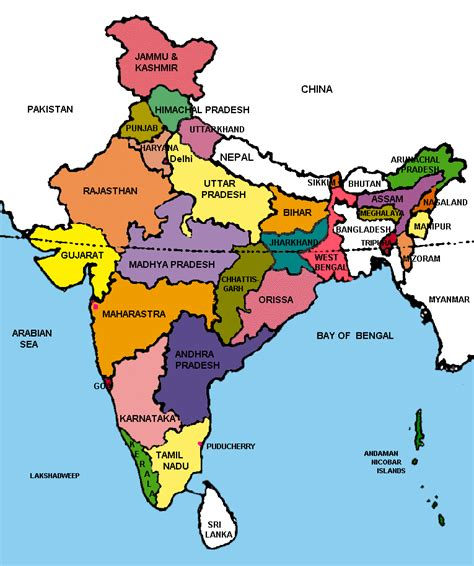 indian states travel india