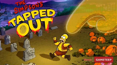 Simpsons Treehouse Of Horror Xxiv - the simpsons tapped out ghost halloween update 2013 gameteep