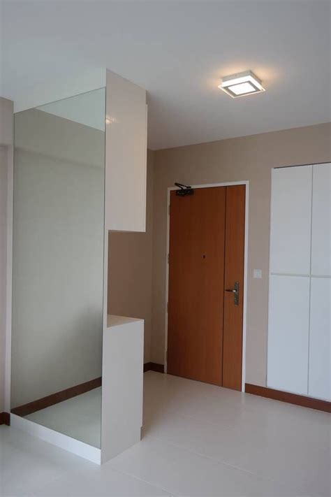 shoe cabinet  partition  entrance walkway   livingdining area  dream home