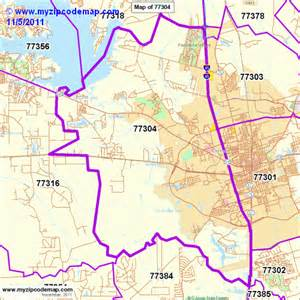 map of conroe zip code map of 77304 demographic profile residential