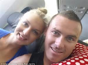 sys tallena and brad their honeymoon snaps seven year switch brad and tallena instagram