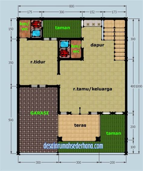 design interior rumah type 60 gambar desain rumah type 21 72 2 lantai gontoh