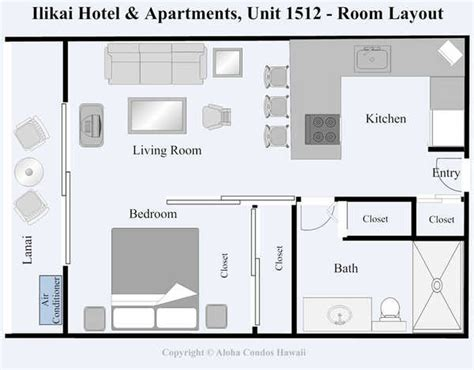 ilikai hotel floor plan ilikai hotel condo 1512 1 bedroom view condo oahu