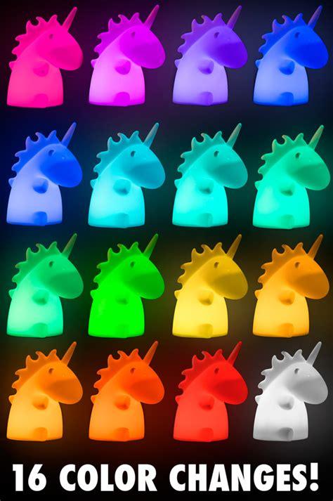 Rainbow Unicorn Palleta 12 Colour unicorn l color changing desktop light