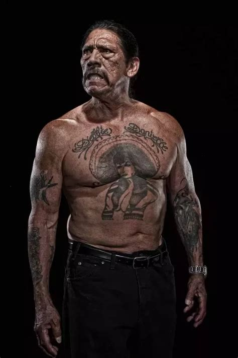 danny trejo tattoos why don t actors visible tattoos quora