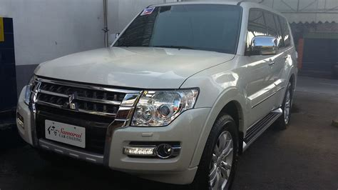 Glass Carcoating Mitsubishi Pajero 2016 Pearl White
