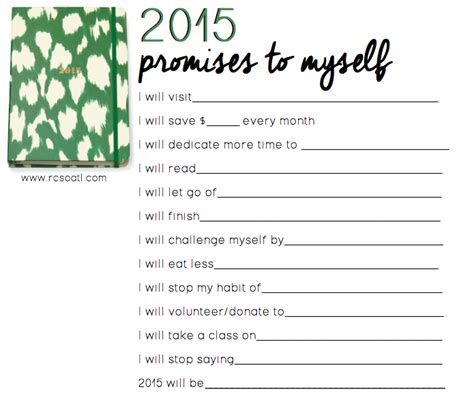 2016 goals template year calendar template 2016