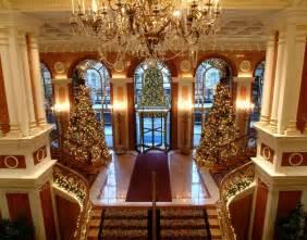 inside decor and design christmas decor hotel elegant luxury christmas trees december city interior image 6558
