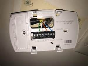 help with setting up a new honeywell rth6350 doityourself community forums