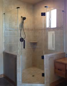 custom neo angle shower doors frameless neo angle shower door glass accents