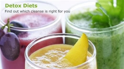 Fit Club Detox Diet by Detox 101 Find Out Which Detox Diet Is Right For You