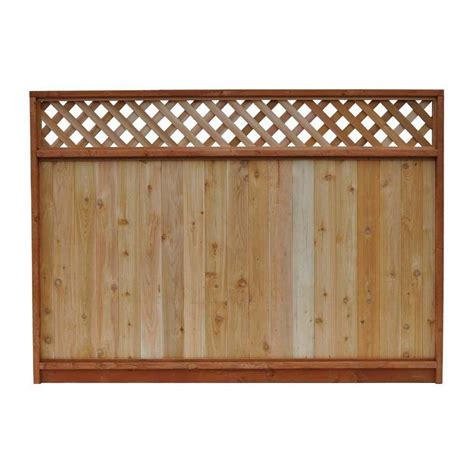 5 Foot Trellis Panels Signature Development 6 Ft H X 8 Ft W Western Cedar