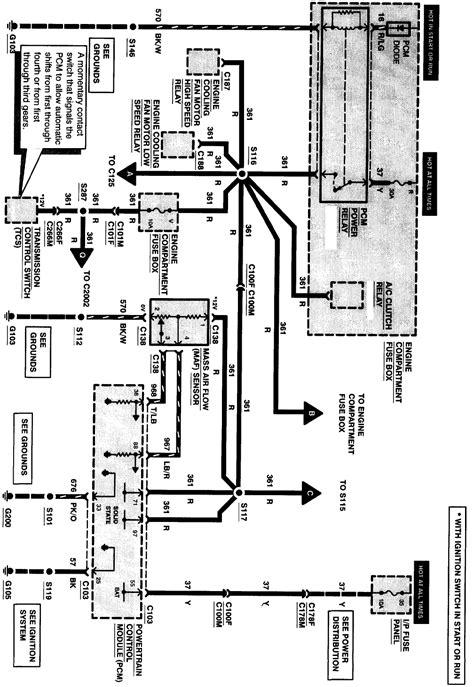 windstar ecm wiring diagram wiring diagram