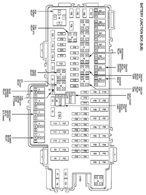 4 best images of 05 f250 fuse box diagram 2002 ford f 250 fuse box diagram 2011 ford f 250