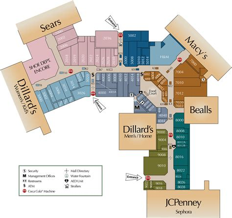 castleton mall map map of oak park mall my