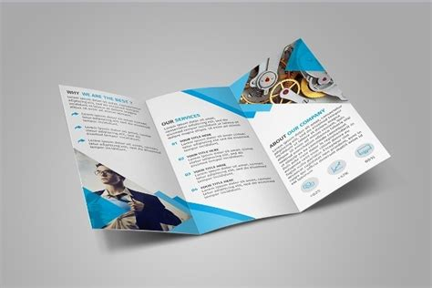phlet template illustrator photoshop tri fold brochure template free 28 images
