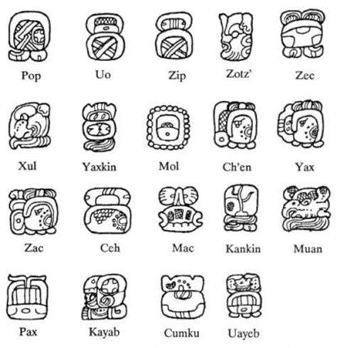 Calendario Haab Y Tzolkin Calendarios Mayas Tzolkin Y Haab Eugenio Thompson