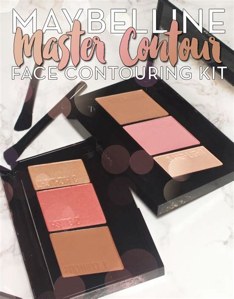 Maybelline Contour Kit maybelline master contour contouring kit i all
