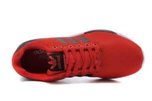 Hombres Adidas Originals Zx Flux Print Zapatos Charcoal Gris Blanco Negro Zapatos P 888 by Baratas Adidas Zx Flux Hombre Rojas Negras